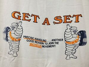 New LImited Michelin Man T-Shirt Classic Car Enthusiast All Size 33us2