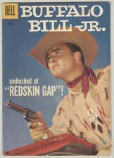 Four Color #828 VG/FN 1957 Buffalo Bill Jr., Photo Cover
