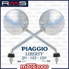 COPPIA SPECCHIETTI DESTRO E SINISTRO PIAGGIO LIBERTY 50 125 150 MOC RST 2010