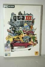GTA III GIOCO USATO OTTIMO STATO PC CDROM VERSIONE ITALIANA AT3 43809