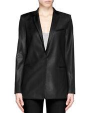HELMUT LANG Deft Suiting Wool Blazer Jacket in Black Size 12  Large L