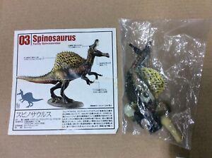 UHA Kaiyodo Dinotales 5 Spinosaurus A Dinosaur Figure RARE NEW Sealed