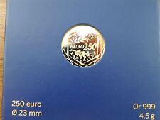 france 2014 250 euros or 999/°°° 4,5gr