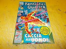 FANTASTICI QUATTRO N.126.CACCIA ALL'UOMO.MARVEL COMICS.APRILE 1995 BUONISSIMO!!