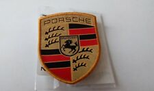 Genuine Porsche Emblem Stripe Crest Sewon Badge