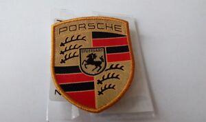 Porsche Patch Emblem Stripe Crest Sewon Badge Genuine
