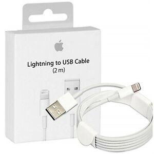 Cable Lightning Original 100% Apple Carga MD819 2m *Caja Retail* iPhone 6s 7 8 X