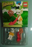 LEGO FABULAND réf 3704 . MARJORIE MOUSE SOURIS. ANCIEN JOUET NEUF DE 1982 SCELLE