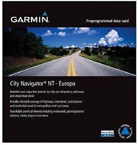 NEW Garmin City Navigator Full Europe NT Micro SD Card Nat Nav 010-10680-50