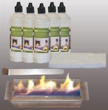 Set / Bruciatore Inox / 5L Etanolo / Fiamma-Estintore
