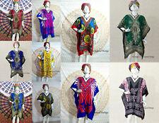 10 Wholesale lot Assorted Women's Short Boho Casual Plus Size Tunic Beach-Kaftan