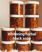 Organic Herbal Whitening Black Soap