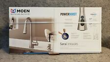 Moen Sarai model 87836SRS Stainless Steel Pull Down Spray Kitchen Faucet
