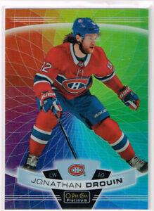 2019-20 OPC Platinum Rainbow Color Wheel #64 Jonathan Drouin - Canadiens