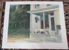 "Edward Hopper - ""Seven a. m."" - Shorewood Original Laminated Art Print"