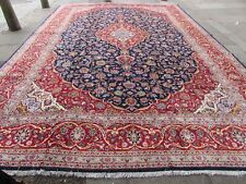 Vintage Traditional Hand Made Rugs Oriental Wool Red Large Carpet  520x352cm