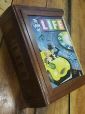 The Game of Life (Board Game, Vintage Collection) wood box COMPLETE PLEASE READ