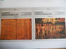Vinile 33 Giri LP - Canti Gregoriani Volume 1 e 2  Benedettini Abbazie S.Maurice