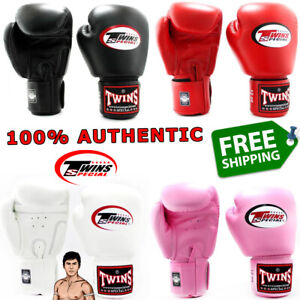 TWINS SPECIAL Gloves BGVL3 Muay Thai Boxing Real Leather 100% GENUINE ORIGINAL