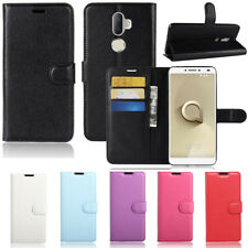 Premium Leather Wallet TPU Case Cover For Telstra Superior 4GX 2018 / ALCATEL 3V