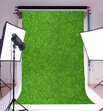 Green Lawn Photography Backgrounds 5x7ft Vinyl Photo Backdrops