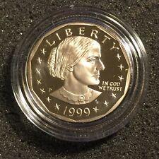 1999 P Susan B Anthony Dollar AU//BU