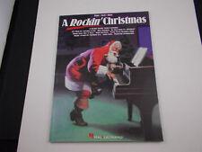 * a Rockin Christmas SongbooK-Hal Leonard Company piano-vocal-guitar