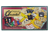 Cluedo Board Game Orginal The Great Detective Game Murder 1995 Mystery Complete
