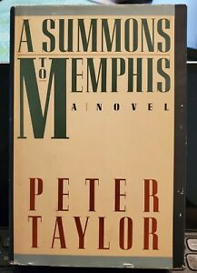 """Peter Taylor signed """"A Summons to Memphis"""" 1st edition 1986 hardcover, Pulitzer"""