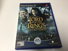 PS2 GAME THE LORD OF THE RINGS THE TWO TOWERS
