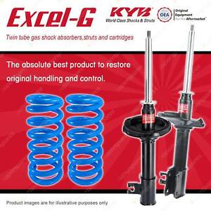 Rear KYB EXCEL-G Shock Absorbers + Raised Coil Springs for SUZUKI Baleno GC