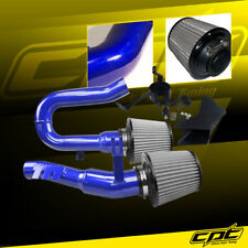 07-10 BMW 335i 3.0L L6 E90/E92/E93 Blue Cold Air Intake + Stainless Air Filter