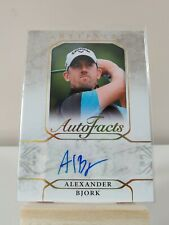 ALEXANDER BJORK 2021 Artifacts Golf Autofacts Auto #A-AB