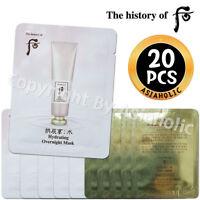The history of Whoo Soo Yeon Hydrating Overnight Mask 4ml x 20pcs (80ml) Sample