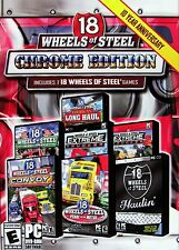 18 Wheels of Steel CHROME EDITION - 7x Trucking Simulation PC Windows Games NEW