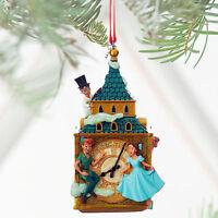 2016 Disney Store Peter Pan & Darling Children Sketchbook  Christmas Ornament
