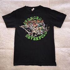 AVENGED SEVENFOLD 2009 Concert Tour Shirt Slayer Korn Pantera Volbeat Metallica