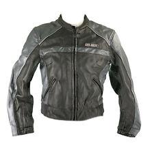 Cafe Racer Motorradjacke Lederjacke Gr. 40 Motorradkombi Leather Suit Schwarz