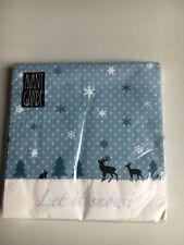 Papier Servietten AVANT GARDE Let it snow 20 Stück Paper+Design 33x33 cm 3 lagig