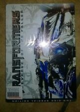 TRANSFORMERS revenge of the fallen  2 DVD  METAL BOX