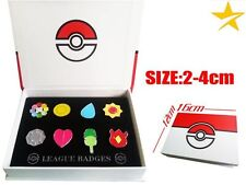 Caja medallas Pokemon Kanto pin box set Pokémon SHIPS WORLDWIDE