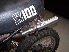 New pro caliber 1979 1980 1981 Suzuki RM100 aluminum silencer kit 14330-40201