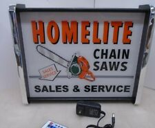 Homelite Chain Saw Sales Service LED Display light sign box