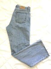 Gap 1969  Easy Fit Blue Denim Jeans Mens Size 34(36)x32(33) Distressed