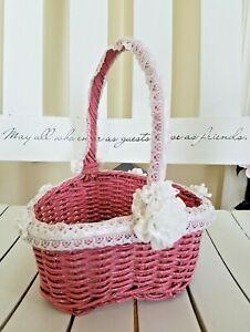 Heart Shaped Basket Artisan Made