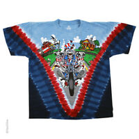 New GRATEFUL DEAD Motorcycle Sam Tie Dye T Shirt