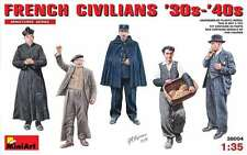 1:35 MiniArt 38004 - French Civlilians '30s - '40s  - 5 Figure Set  Model Kit