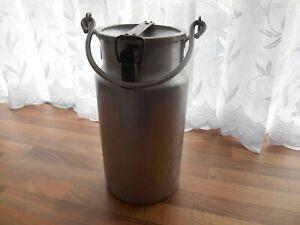 Vintage 10 PINT  Shabby Chic Aluminium GOATSMilk Churn with lock down lid