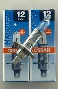 2 x Osram H1 12V 55W 12 volt 55 Watt 64150 P14.5s Original Osram AJ2