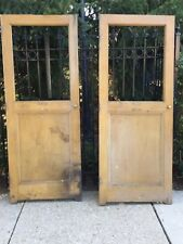 Antique interior Church Doors